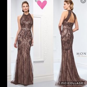 Montage by Mon Cheri long Gown